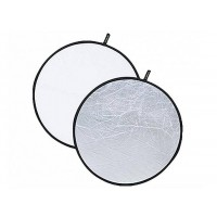 Huanor Reflector Light disc White and Silver 110cm
