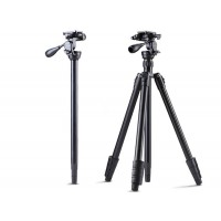 Professional Camera Tripod for DSLR and Video with Pan Head