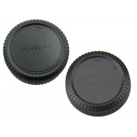 Front and Rear Lens body Cap for Nikon 1 Mount