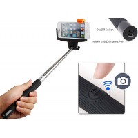 Wireless Monopod Selfie Stick Bluetooth remote
